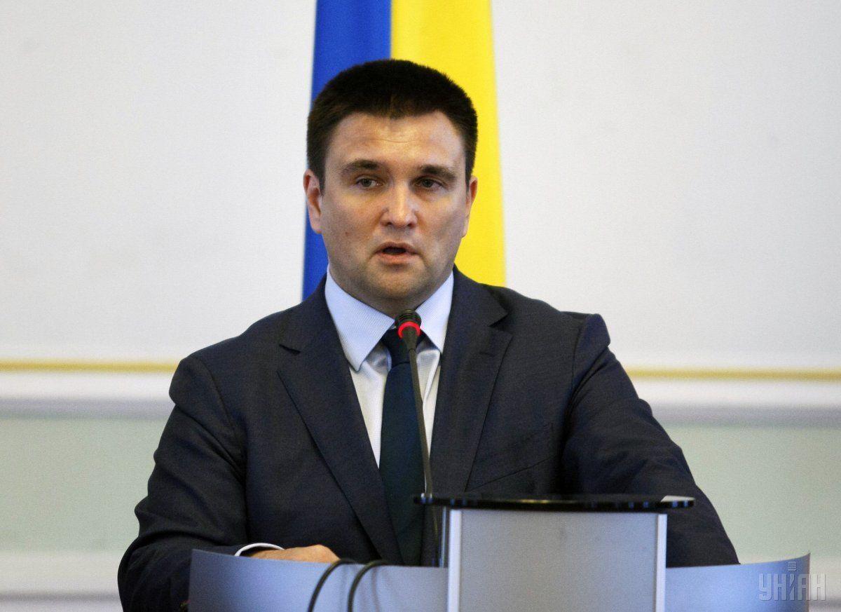 Климкин после заявления главы МВД Италии предупредил об ответственности / фото УНИАН