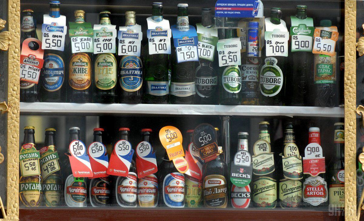 В Киеве запретили продавать алкоголь в МАФах / Фото УНИАН