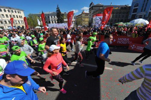 Киевский марафон - это событие, на которое больше всего ориентированы иностранные участники / kyivhalfmarathon.org