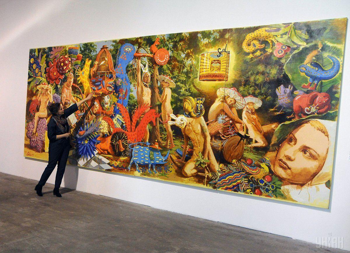 Выставка объединяет работы представителей разных стилей / Фото УНИАН