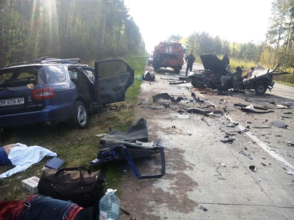 Дорожня аварія сталася сьогодні на 240 км автотраси