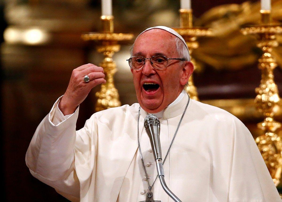 Папа Римский Франциск \ REUTERS