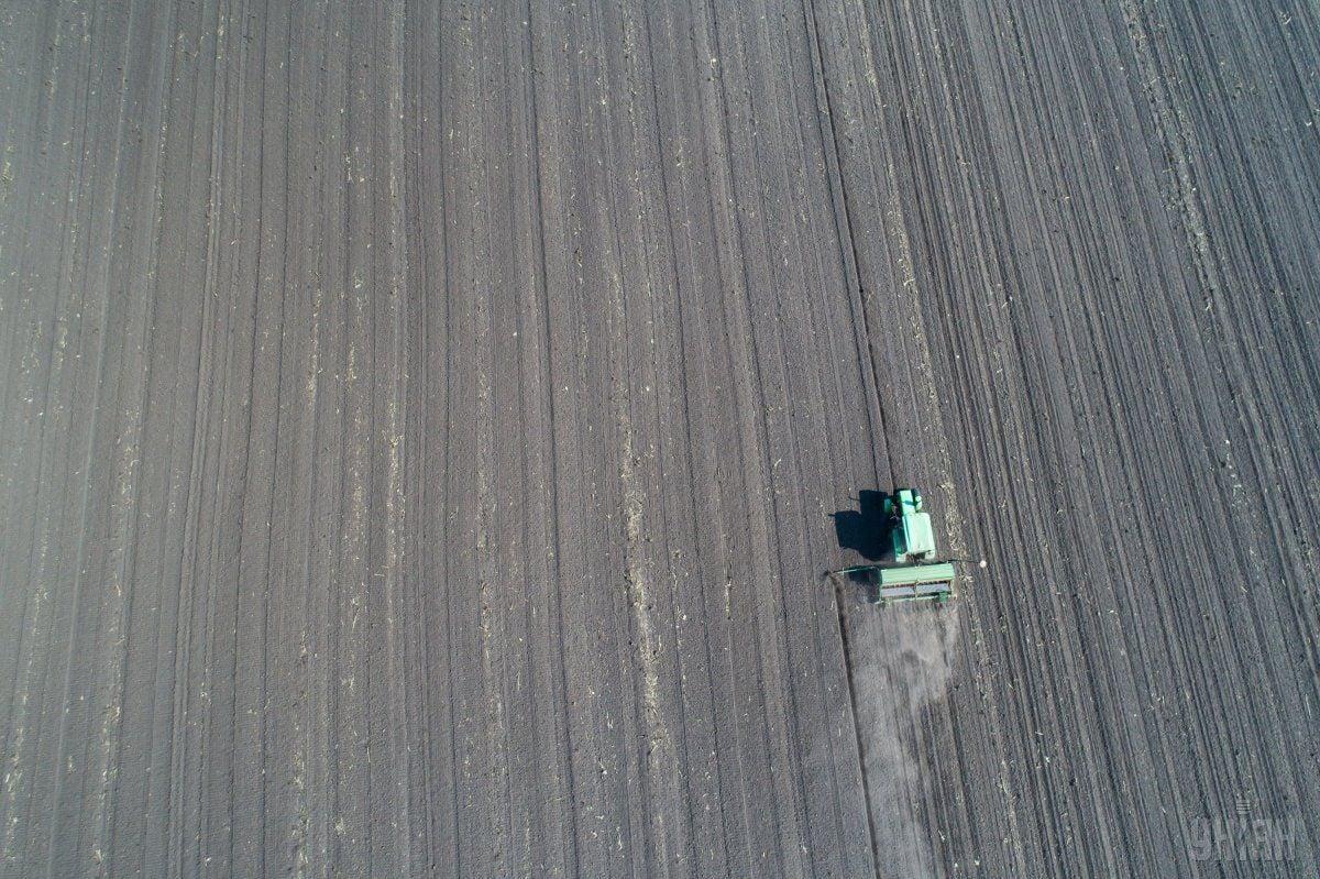 Відсутність опадів сприяладинамічному ходу посівної / Фото УНІАН