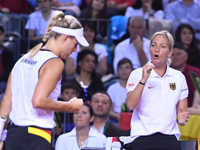 Барбара Риттнер высоко оценивает потенциал сборной Украины / dtb-tennis.de