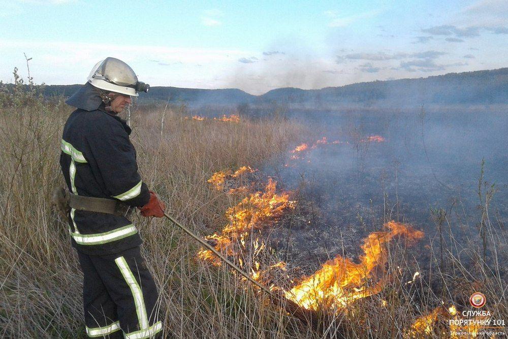 В Україні зберігається пожежна небезпека / ДСНС