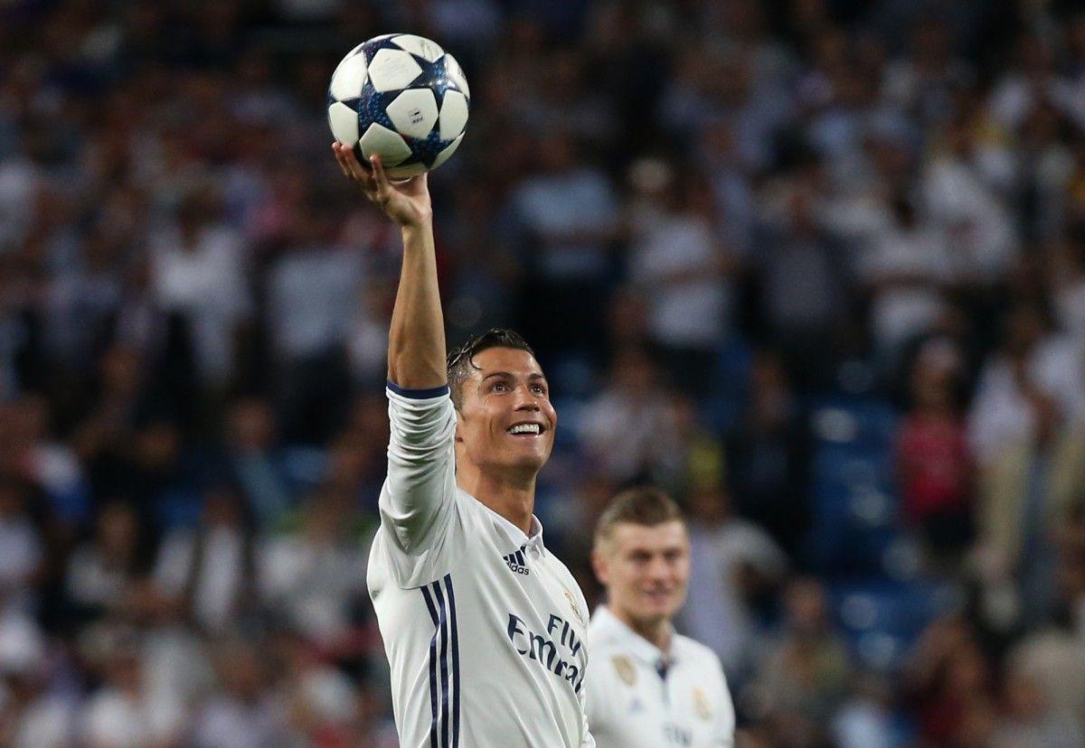 Кріштіану Роналду: Є сто голів в Лізі чемпіонів / Reuters