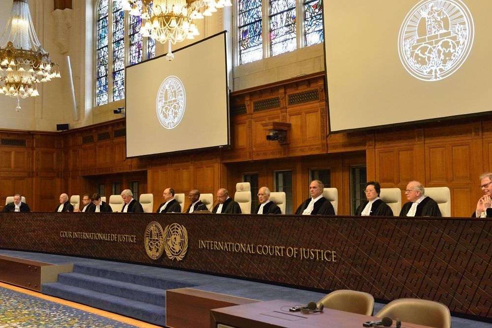 The Ukraine vs Russia case heard by ICJ in The Hague / Photo from UNIAN