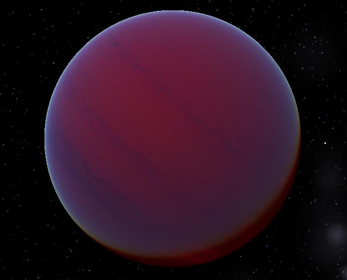 Екзопланета обертається навколо невеликої червоної або помаранчевої зірки / Фото Wikipedia