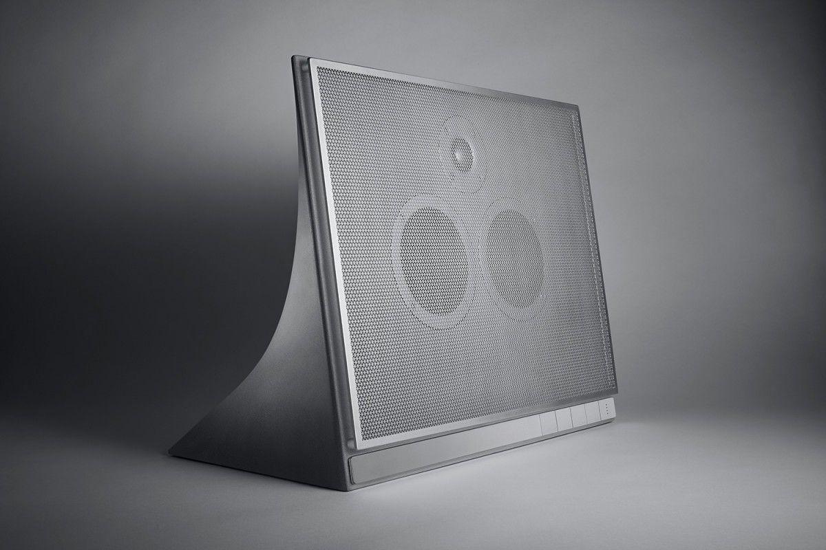 В США представили аудіоколонку з бетону