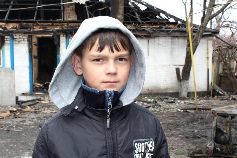 Пожежа в будинку виникла через дитячі пустощі з вогнем / ДСНС