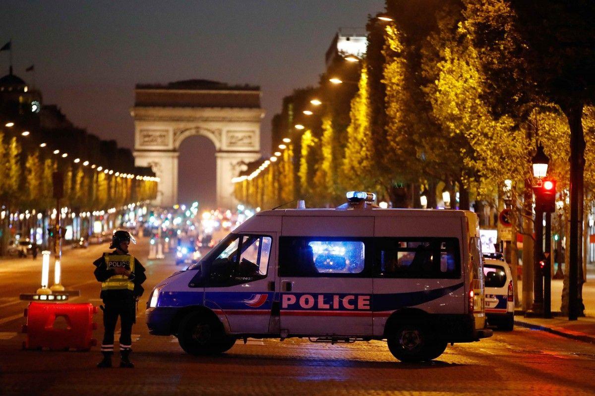 Теракт у центрі Парижа / REUTERS