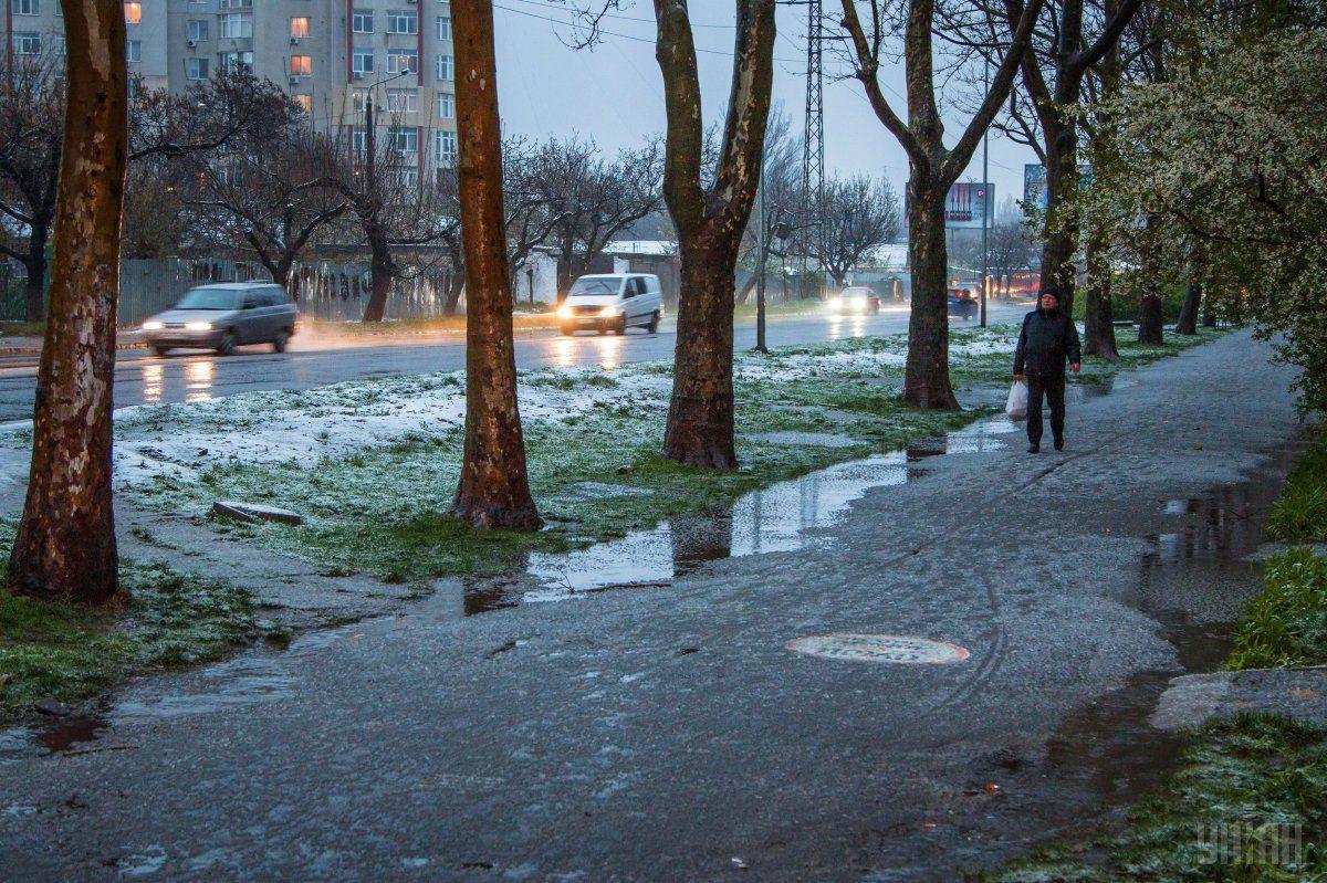 Негода в Одесі / УНІАН