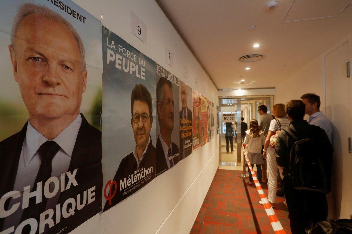 Вибори президента у Франції: з'явилися перші дані екзит-полів
