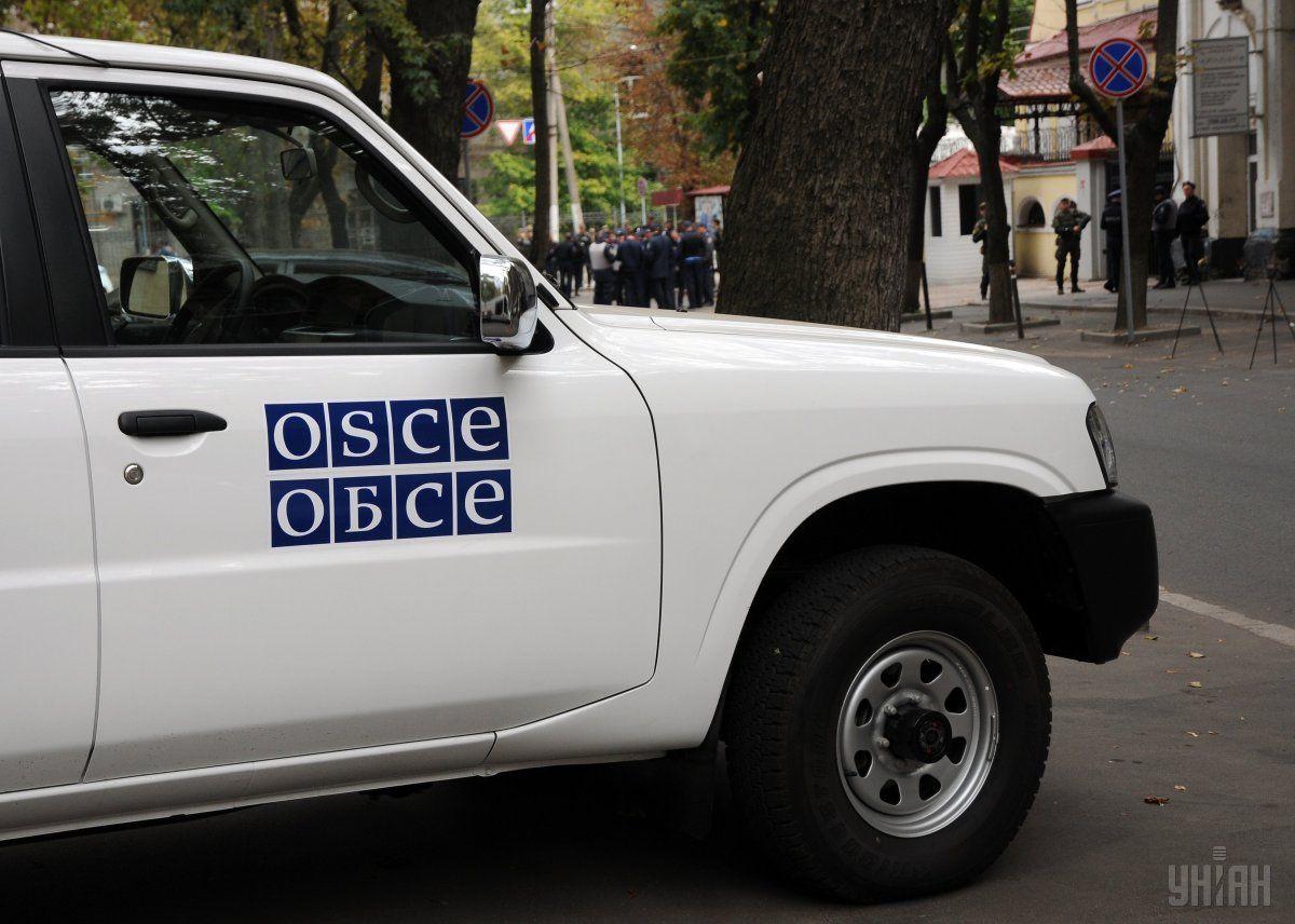 Инцидент произошел в районе города Петровское в 41 км к югу от Донбасса / УНИАН
