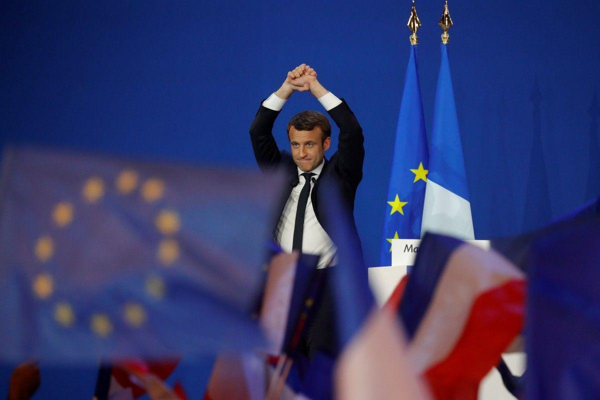 Эммануэль Макрон / REUTERS