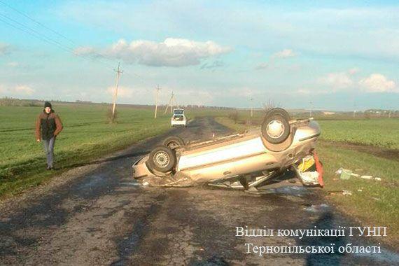 В ДТП загинув чоловік / Нацполіція Тернопільскої області