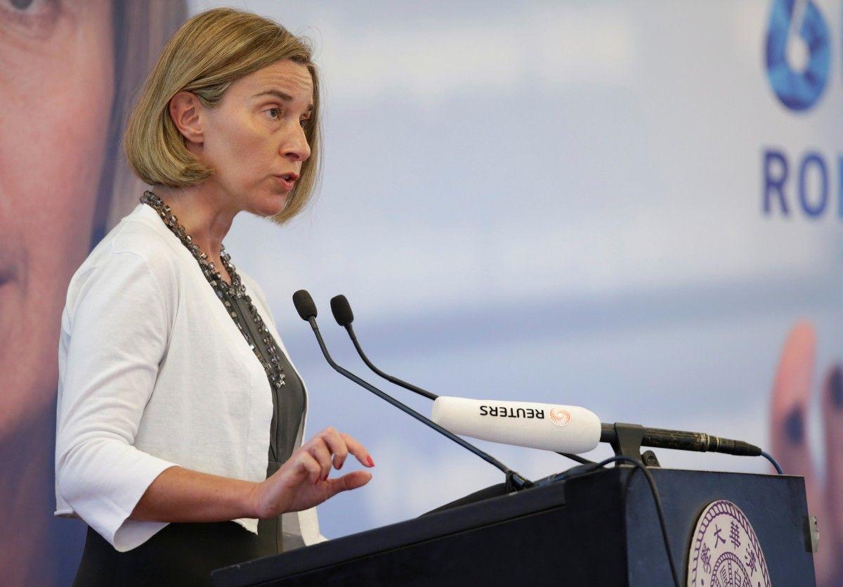 Federica Mogherini / REUTERS