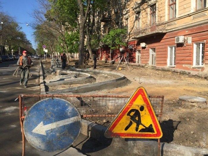 В Одесі будують велодоріжку / Думська