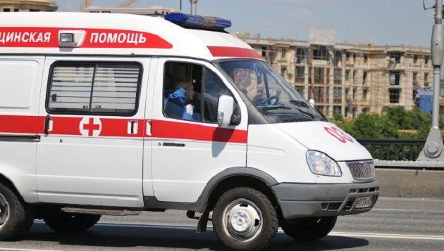 В Крыму на уроке умердесятиклассник / скорая помощь в рФ / РИА Новости