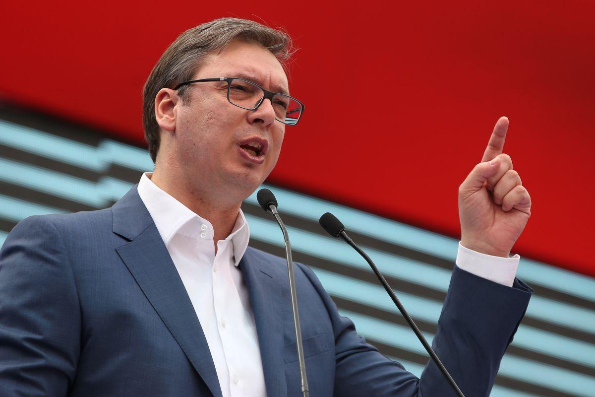 Президент Сербии Александар Вучич / фото REUTERS