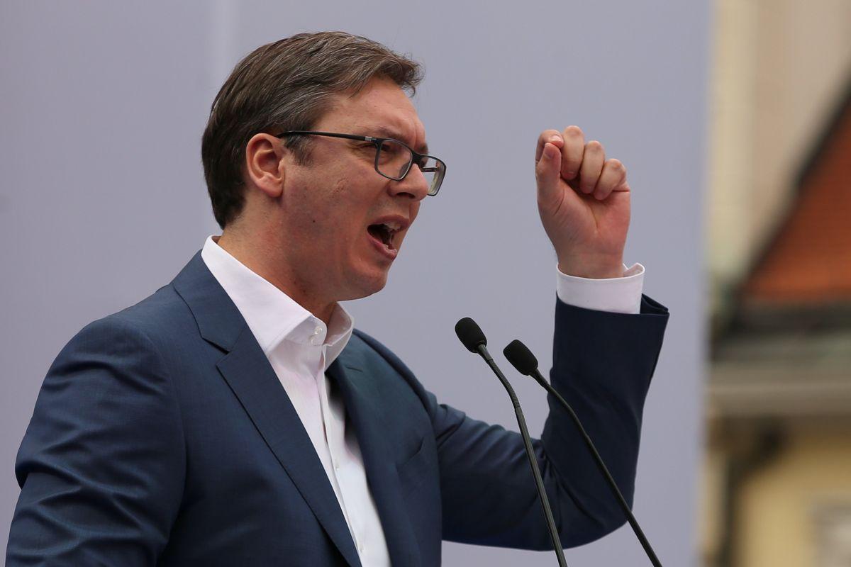 Александар Вучич / REUTERS