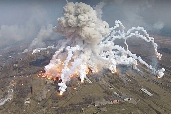 Теракт остается основной версией взрывов в Балаклее / Фото ТСН