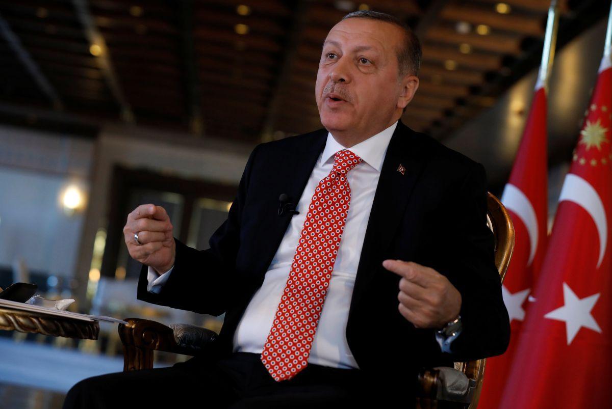 Президент Турции Реджеп Тайип Эрдоган / REUTERS