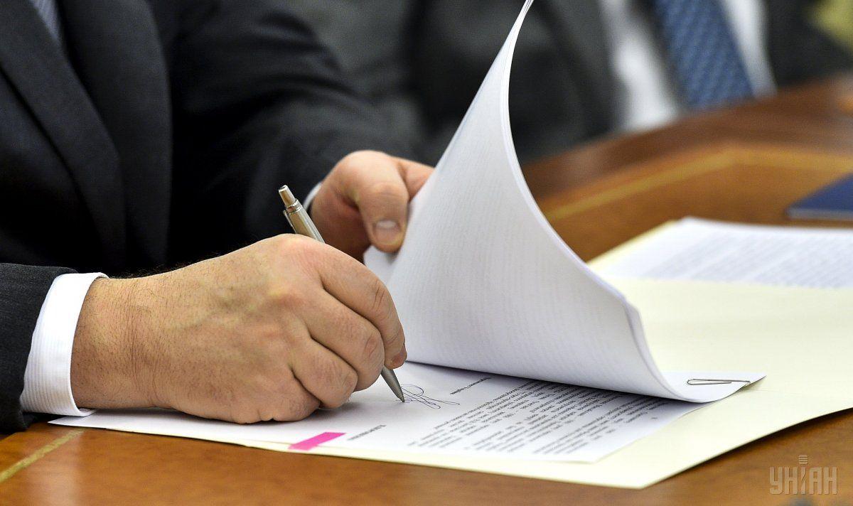 Петр Порошенко подписал указы о присвоении дипломатических рангов / фото УНИАН