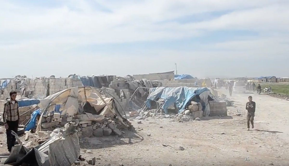 Лагерь беженцев / фото @JulianRoepcke