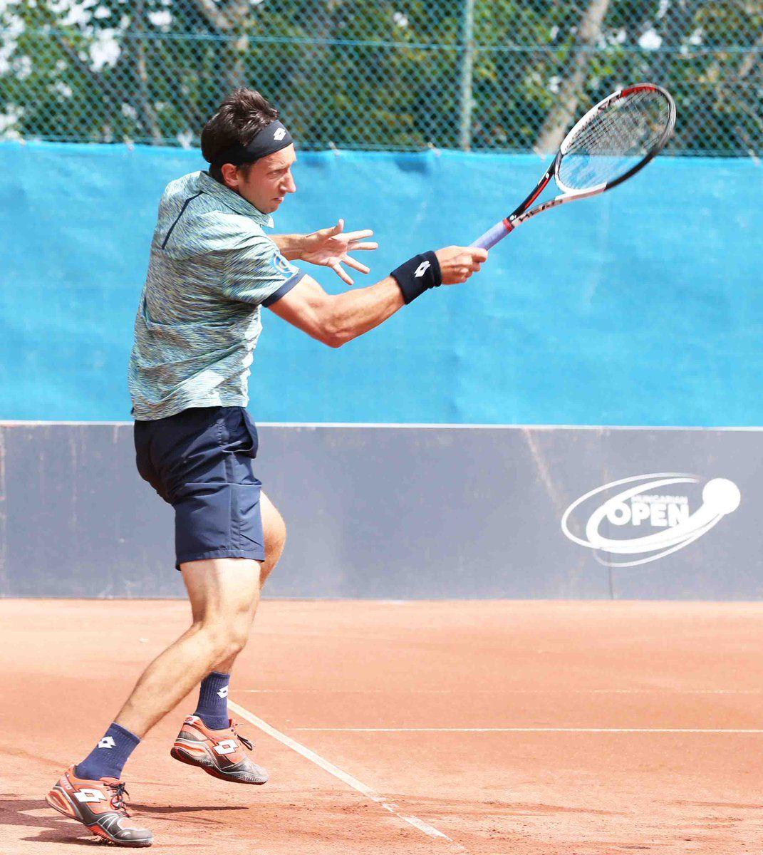 Стаховский проиграл во втором круге на турнире в Будапеште / twitter.com/HUNgarianTENNIS