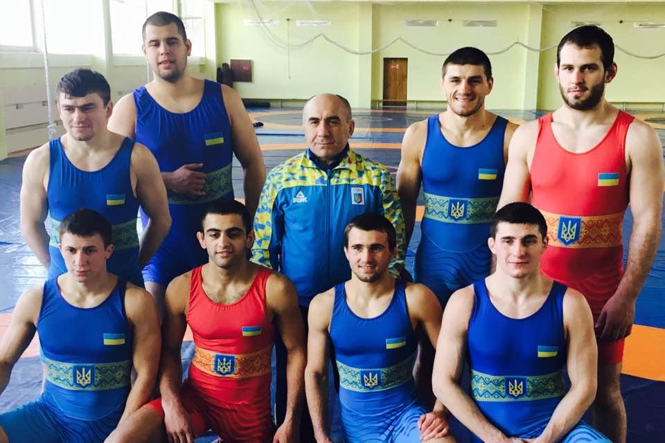 Сборная Украины по вольной борьбе / ukrwrestling.com