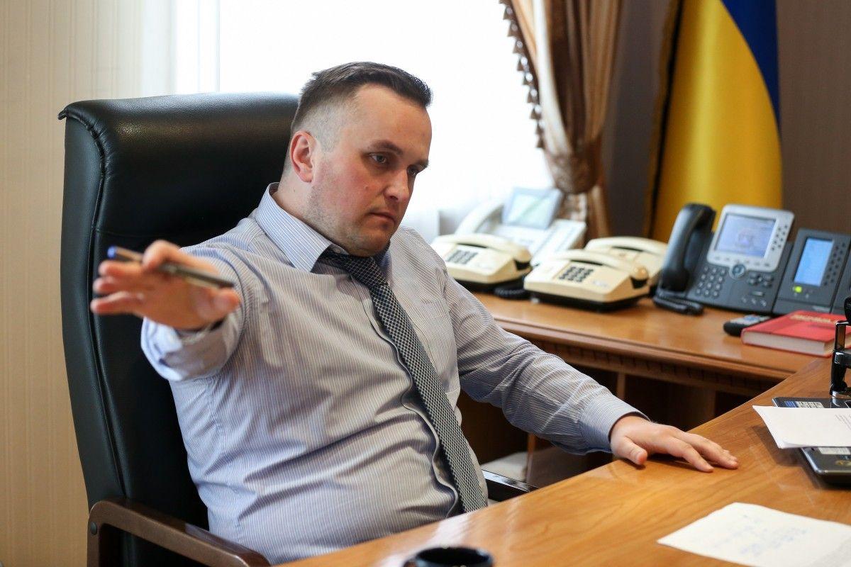 Холодницкий сразу сообщил в ГПУ о том, что ему предлагают взятку / Фото УНИАН