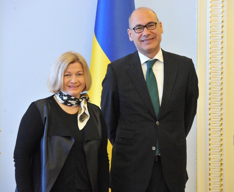 Геращенко призвала Португалию усилить давление на РФ в вопросе освобождения политзаключенных
