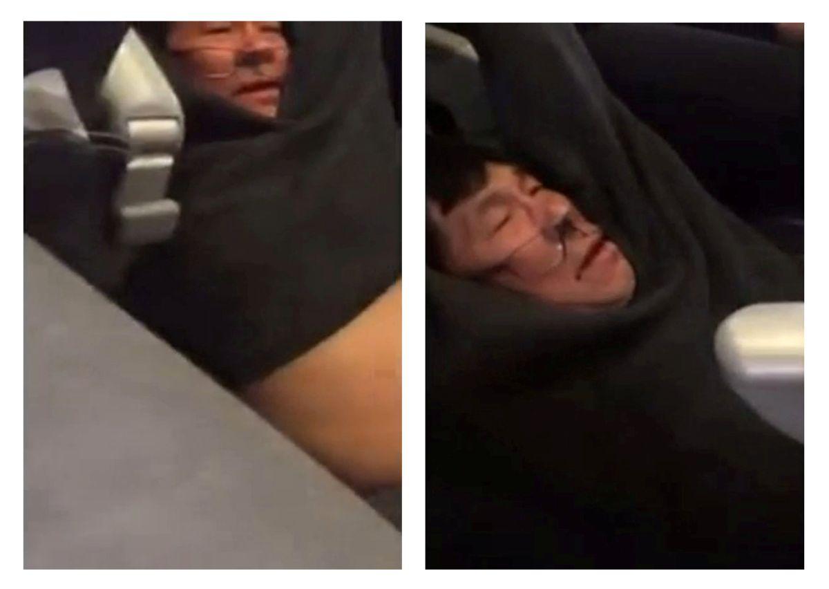 United Airlines заключила мировое соглашение с пассажиром, которого выволокли из самолета