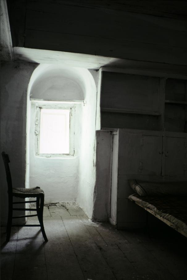 Келия в монастыре Дионисиат, 1979 год