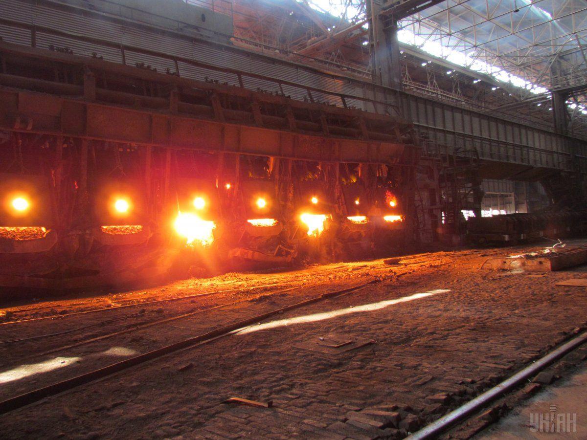 Украина сократила производство стали / фото УНИАН