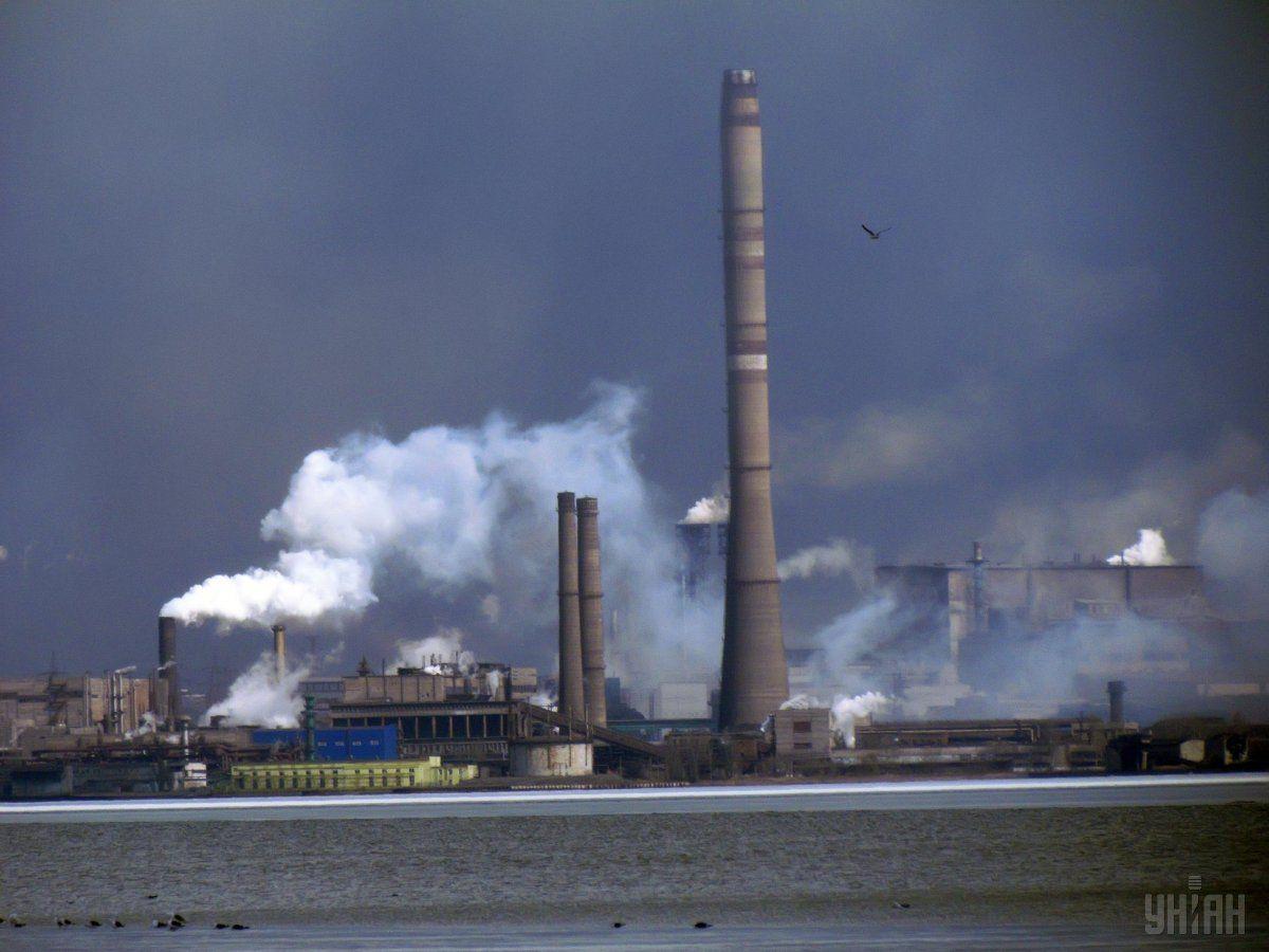 Признаки горения на «Азовстали» не представляют угрозы населению / фото УНИАН