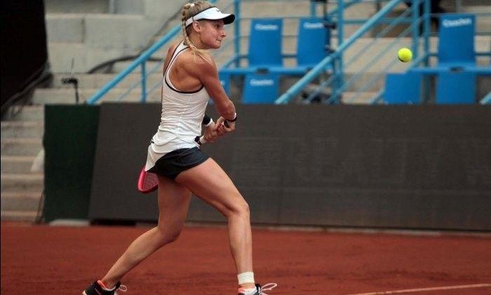 Даяна Ястремская не смогла пройти дальше первого круга в Риме / twitter.com
