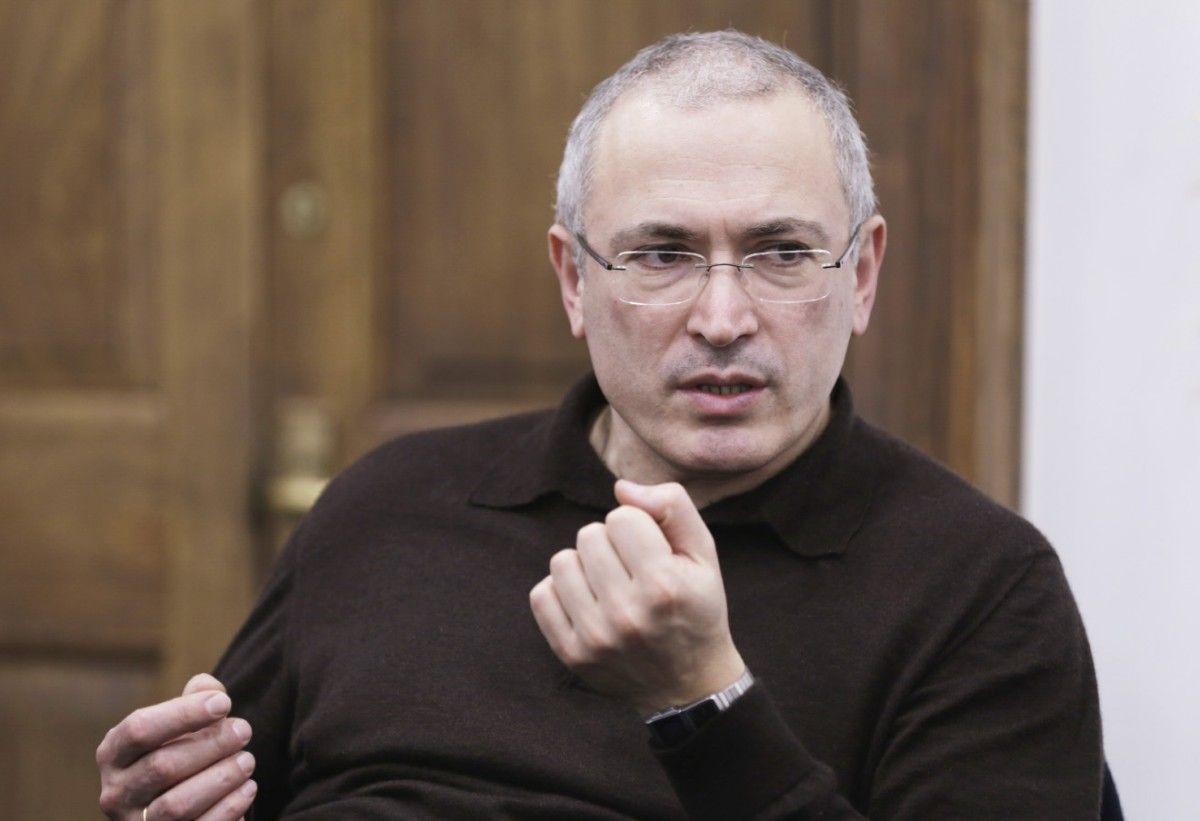 Ходорковський нібито їздив в окупований Донецьк / фото openrussia