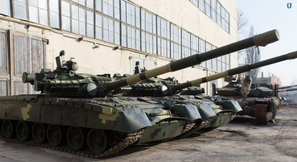 Ukraine's T-64 tank tested before being transferred to army (Photo