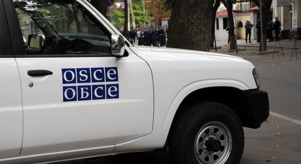 Ukraine's MFA: Kremlin attempts to intimidate OSCE in Donbas by blowing up car (Video)