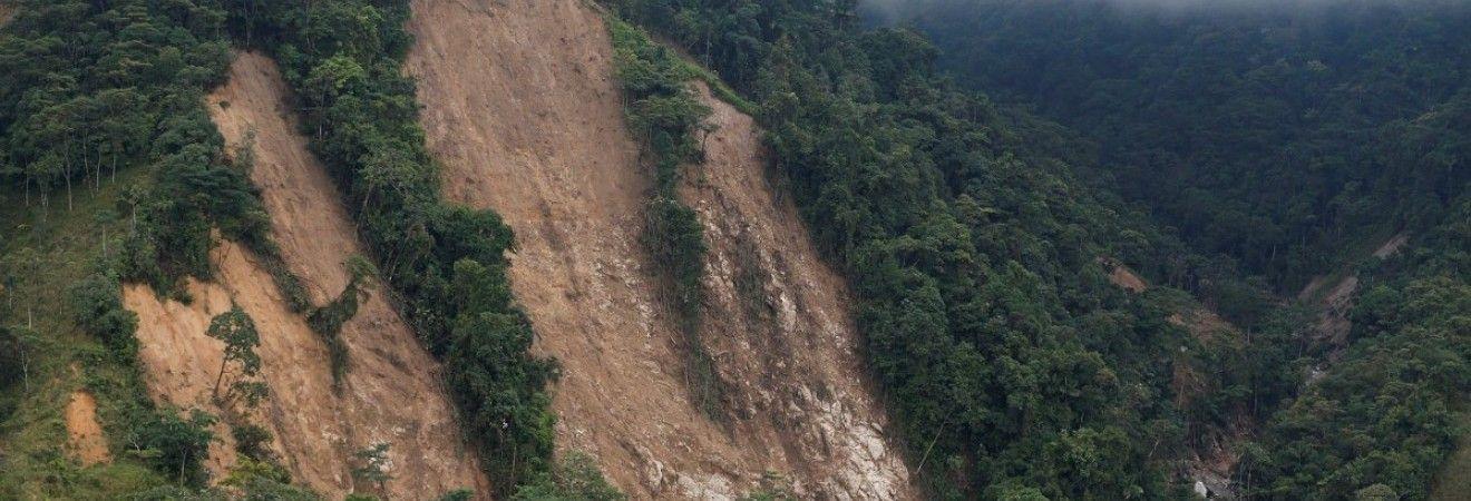В Малайзии в результате обвала горных пород погибли 11 человек