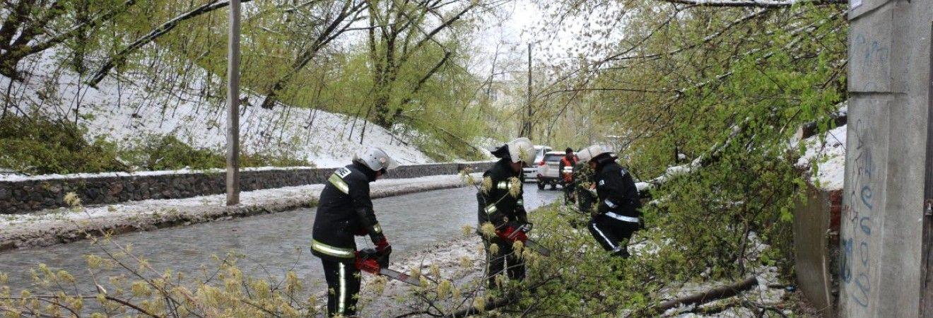 Непогода в Украине: в шести областях остаются обесточенными 318 населенных пунктов