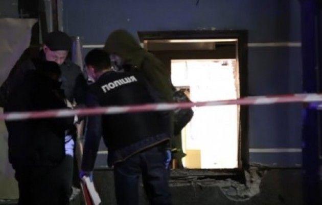 Ночью в центре Киева прогремел взрыв