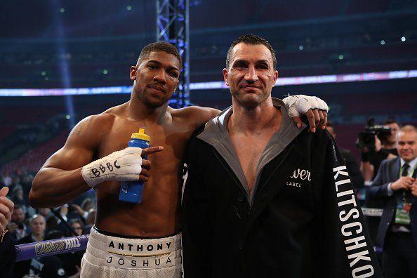 Поединок Джошуа и Кличко побил рекорд телетрансляций / boxingscene.com