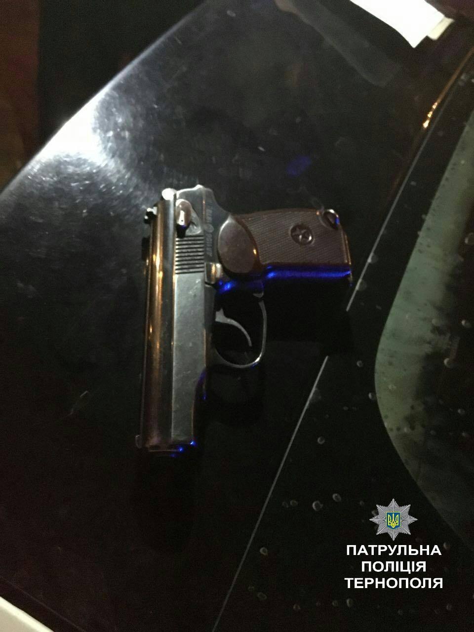 У чоловіка зброю вилучили