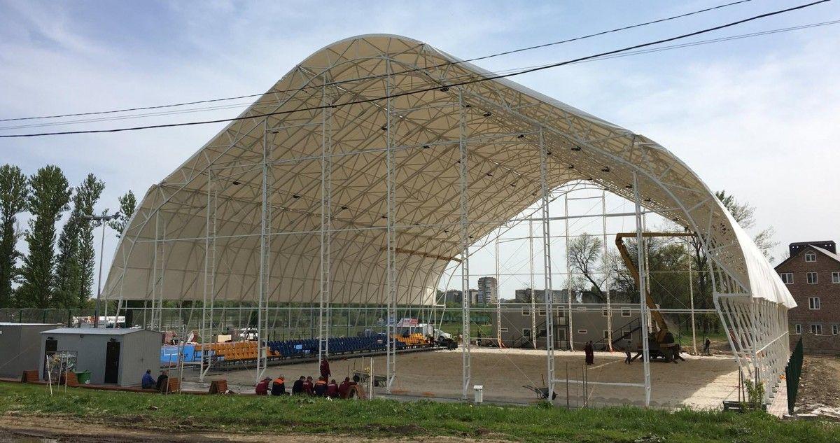 Новая арена для пляжных видов спорта в Ивано-Франковске / beachsoccer.org.ua