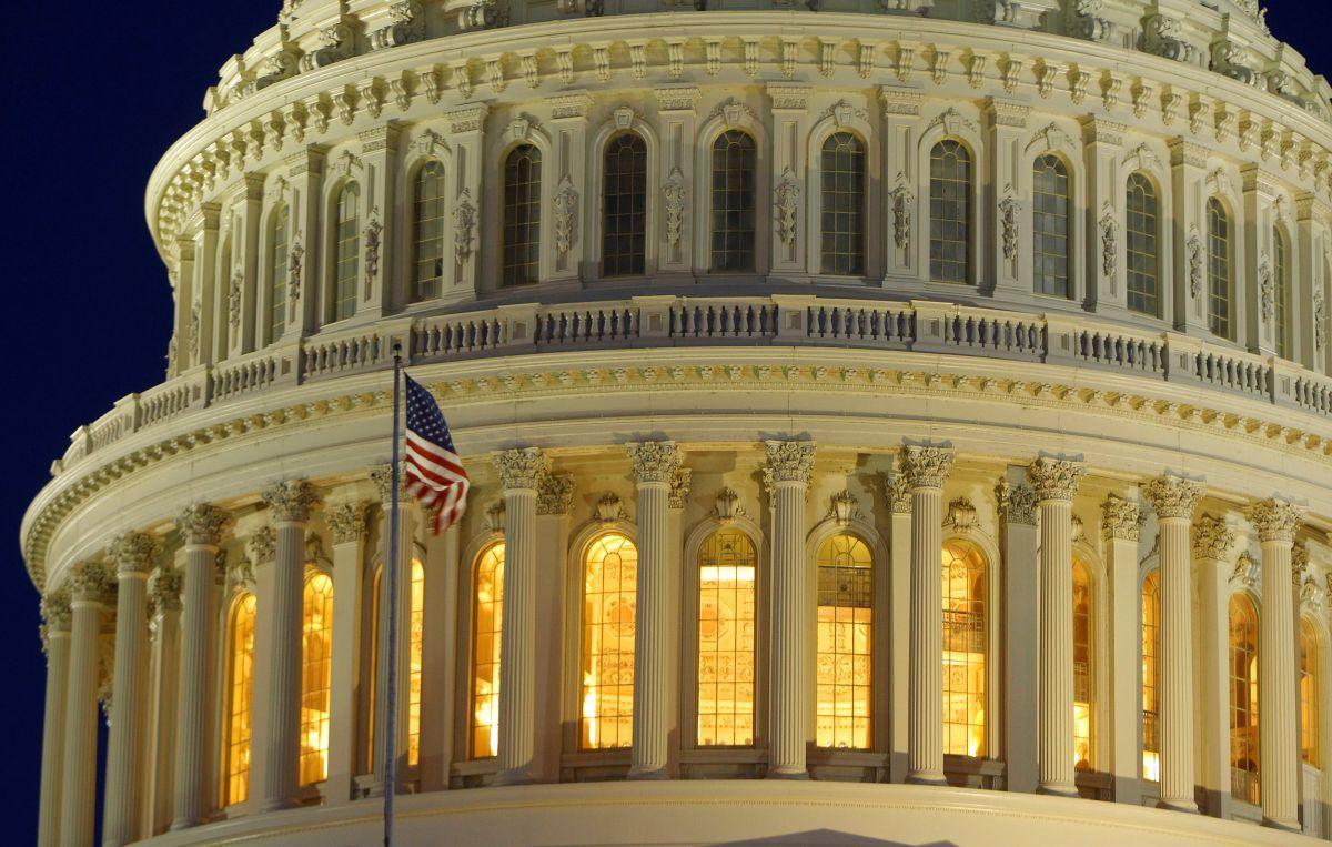 Здание Конгресса США / REUTERS