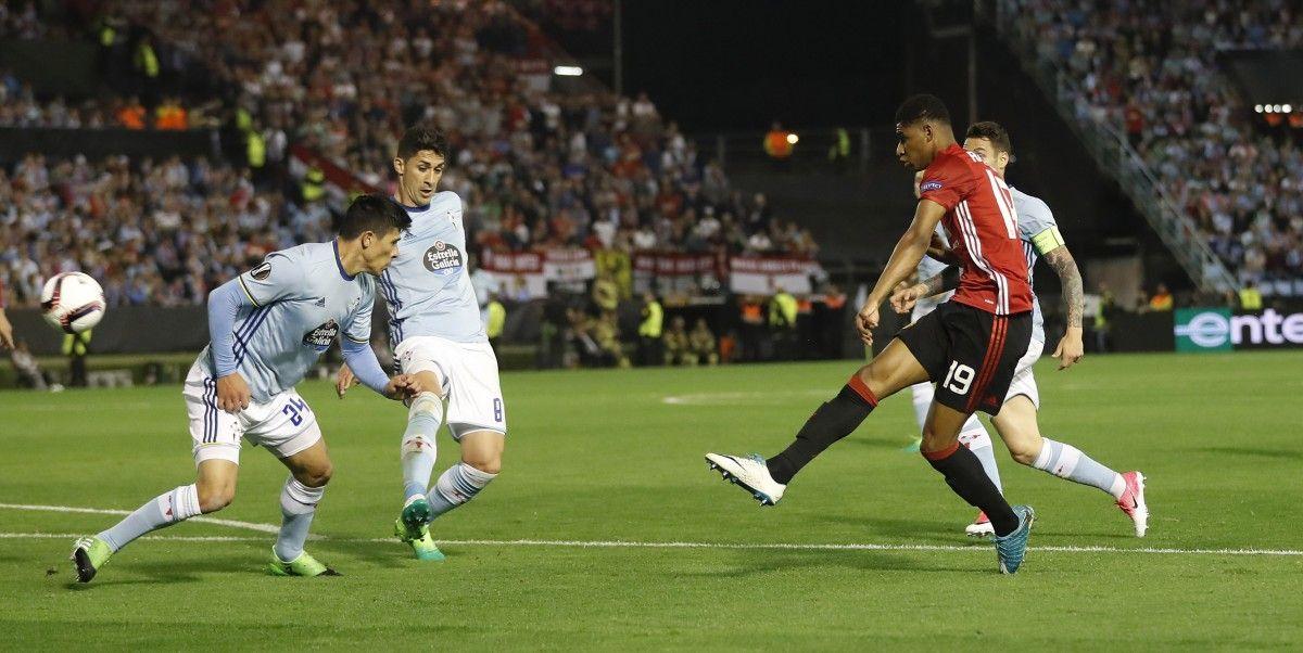 Маркус Рашфорд забил единственный гол в игре  / Reuters