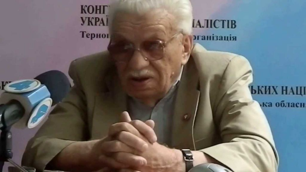 Аксентій Каменюк помер у віці 90 років / фото vilne.org.ua